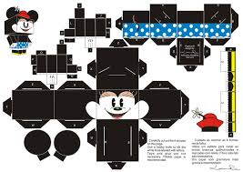 mickey minnie free printable boxes paper toys summer camp