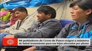 cerro de pasco noticias de cerro de pasco diario correo pobladores de cerro de pasco exigen ayuda para sus hijos afectados