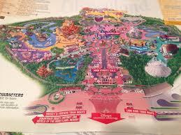 disneyland california adventure map magic is born disneyland was created on paper in 1953