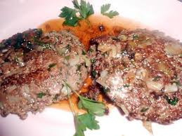 cuisiner steak hach recette de steak haché aux oignons nouveaux