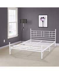 Metallic Bed Frame New Savings On Best Price Mattress Model H Easy Set Up Steel Bed