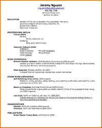 Resumes For Job by Job Resume