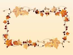 fall border free printable clip art borders free thanksgiving