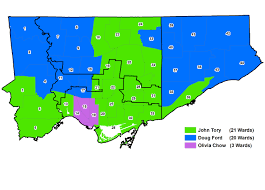 2014 Election Map by Mapping The Results Of The 2014 Toronto Municipal Election Part I