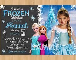 elsa frozen birthday invitations 14 frozen birthday invitation