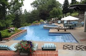 Inground Pool Landscaping Ideas Triyae Com U003d Backyard Inground Pool Landscaping Ideas Various