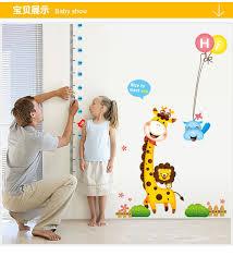 home decor giraffe cute giraffe decorative wallpaper stickers diy decals glass wall