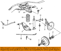 jeep suspension diagram dodge chrysler oem 84 93 ramcharger front upper control arm