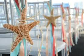 starfish decorations 20 decorations to highlight your walk the aisle