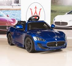 blue maserati amazon com ride on car kids maserati grancabrio 12v battery power