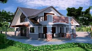 Small Bungalow Style House Plans by One Storey House Design In The Philippines Youtube