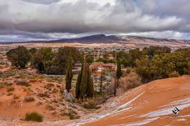 it snowed in the sahara desert for the first time in 37 years