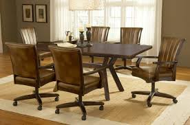 kitchen table with swivel chairs dining table chairs with wheels kitchen table and swivel chairs