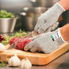 gant de protection cuisine anti coupure gants anti coupure certifié en388 niveau 5 twinzee