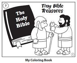 fee jesus heals bartimaeus coloring page 1135