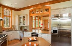 white kitchen cabinets wood trim can i white kitchen cabinets in a home with stained trim