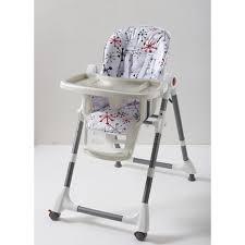 chaise haute comptine chaise haute bébé multiposition comptine imprimé gris comptine pas