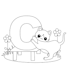 coloring pages letter c aecost net aecost net