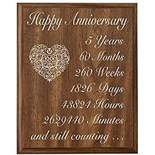 5 yr anniversary gift awesome 5 year wedding anniversary gift wedding gifts