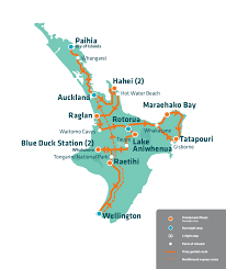 Jet Blue Route Map Jase Pass North Island Hop On Hop Off Bus Pass Stray Nz
