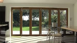 Glass Bifold Doors Exterior Exterior Bifold Doors Sliding Glass Walls Residential Cost