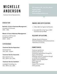 Sample Resume For Customer Service Supervisor by White Simple Customer Service Resume Templates By Canva