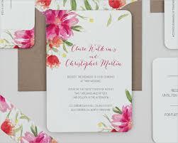 floral wedding invitations 21 simple wedding invitation templates free premium templates