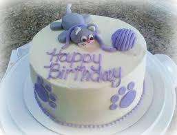 Serendipity Cupcake Co Cat Birthday Cake