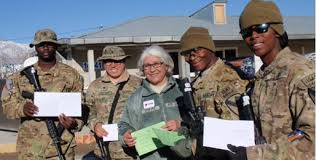 cards bring of home to deployed service