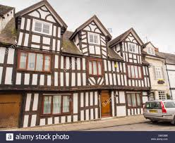 A Framed Houses by Ancient Jacobean Timber Framed Houses On Corve Street In Ludlow