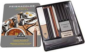 prismacolor charcoal sketching set by prismacolor raw materials
