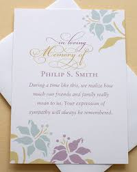 thank you for funeral flowers thank you sympathy cards with lovely flowers custom flat
