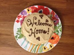 the baking yogi a welcome home cake a welcome home cake