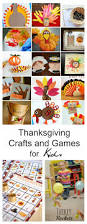 Kids Crafts Thanksgiving Thanksgiving Crafts And Games For Kids The Idea Room