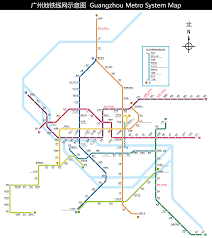 Metro Line Map by Guangzhou Metro Wikipedia