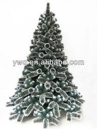 7 5ft snow tip pine tree artificial flocked