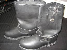 harley davidson s boots size 11 s harley davidson black leather engineer motorcycle boots size