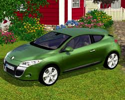 renault green fresh prince creations sims 3 2009 renault megane coupe