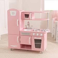 cuisine kidkraft vintage amazon com kidkraft vintage kitchen pink 53347 home kitchen