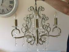 Bhs Crystal Chandeliers Bhs 4 6 Lights Chandeliers Ebay
