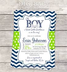 boy baby shower invitations digibaby design