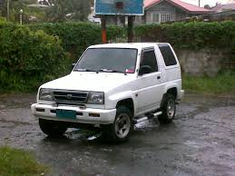 daihatsu feroza offroad mr doleh 1995 daihatsu feroza specs photos modification info at