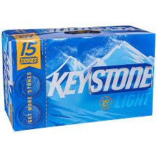 keystone light vs coors light applejack keystone light 15pk 12 oz cans
