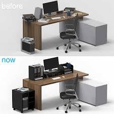 Paper Desk Organizer New Office Desk Accessories Fitueyes Wood Office Desk Organizer