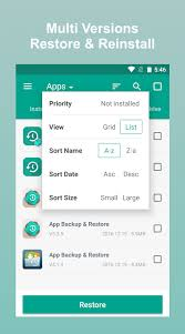 backup and restore apk xperia app sms contact backup restore android apps on play