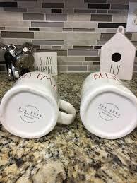 rae dunn believe merry christmas mug set mercari buy u0026 sell