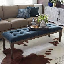 Leather Ottomans Coffee Tables by Ottomans Leather Ottomans