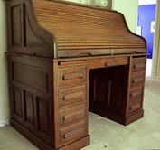 Value Of Antique Roll Top Desk What U0027s It Worth Appraisal Solid Oak Antique Roll Top Desk