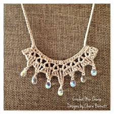 necklace pictures free images 211 best crochet necklace images bead crochet jpg