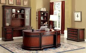 Executive Office Desk Cherry Strandburg Cm Dk6255do Office Desk In Cherry U0026 Black W Options